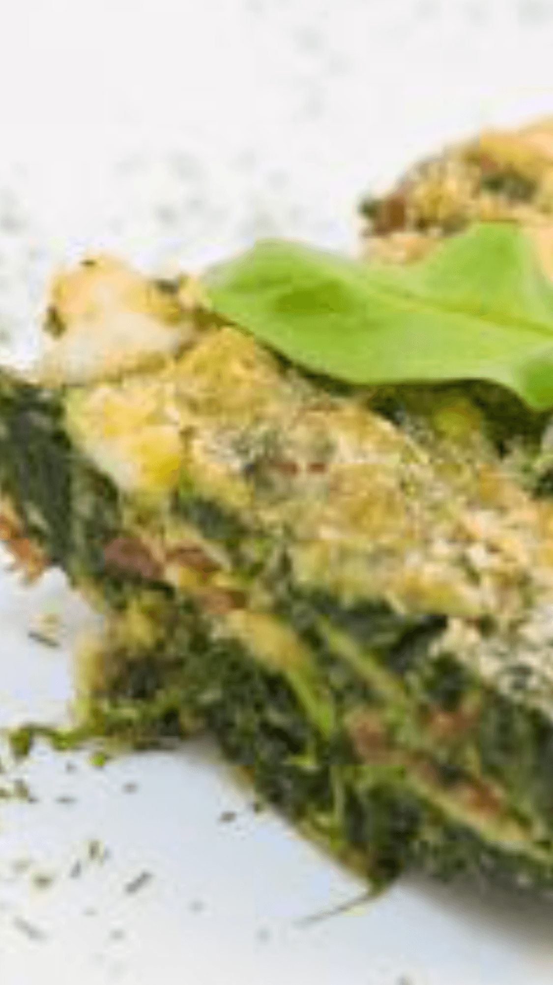 Piatto di lasagne vegetariane