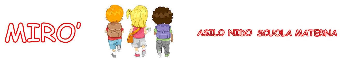 Logo Mirò Asilo nido Scuola materna