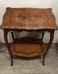 19th century marquetry table