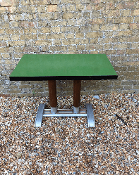 Vintage train table
