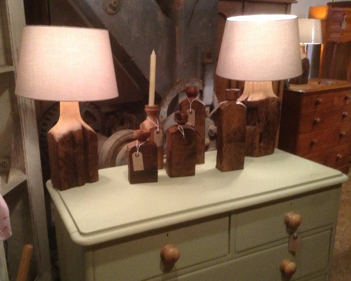 wooden decor items