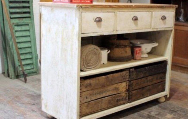 old storage cupboard