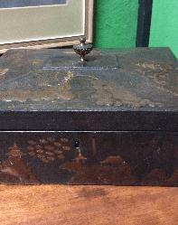 Georgian lacquer box