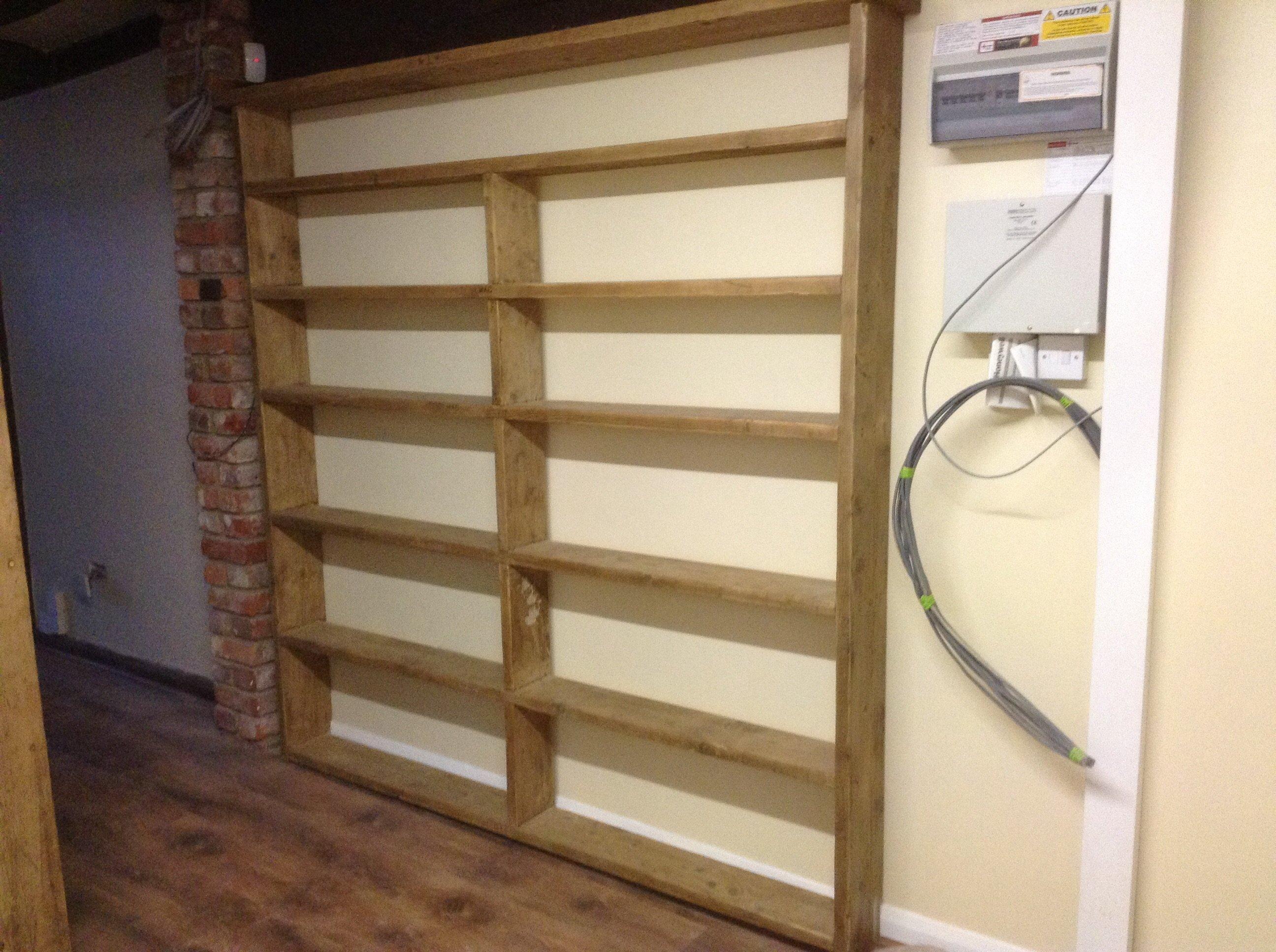 open wall racks