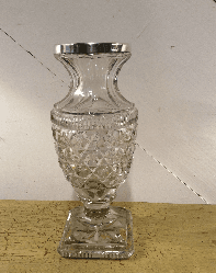 Cut glass and hm silver 1773