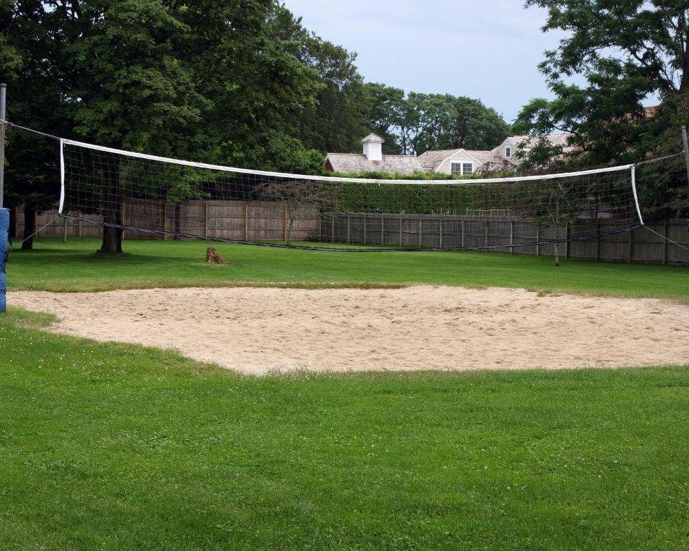 volleyball net at Seafield rehab facility - Long Island & New York City NY