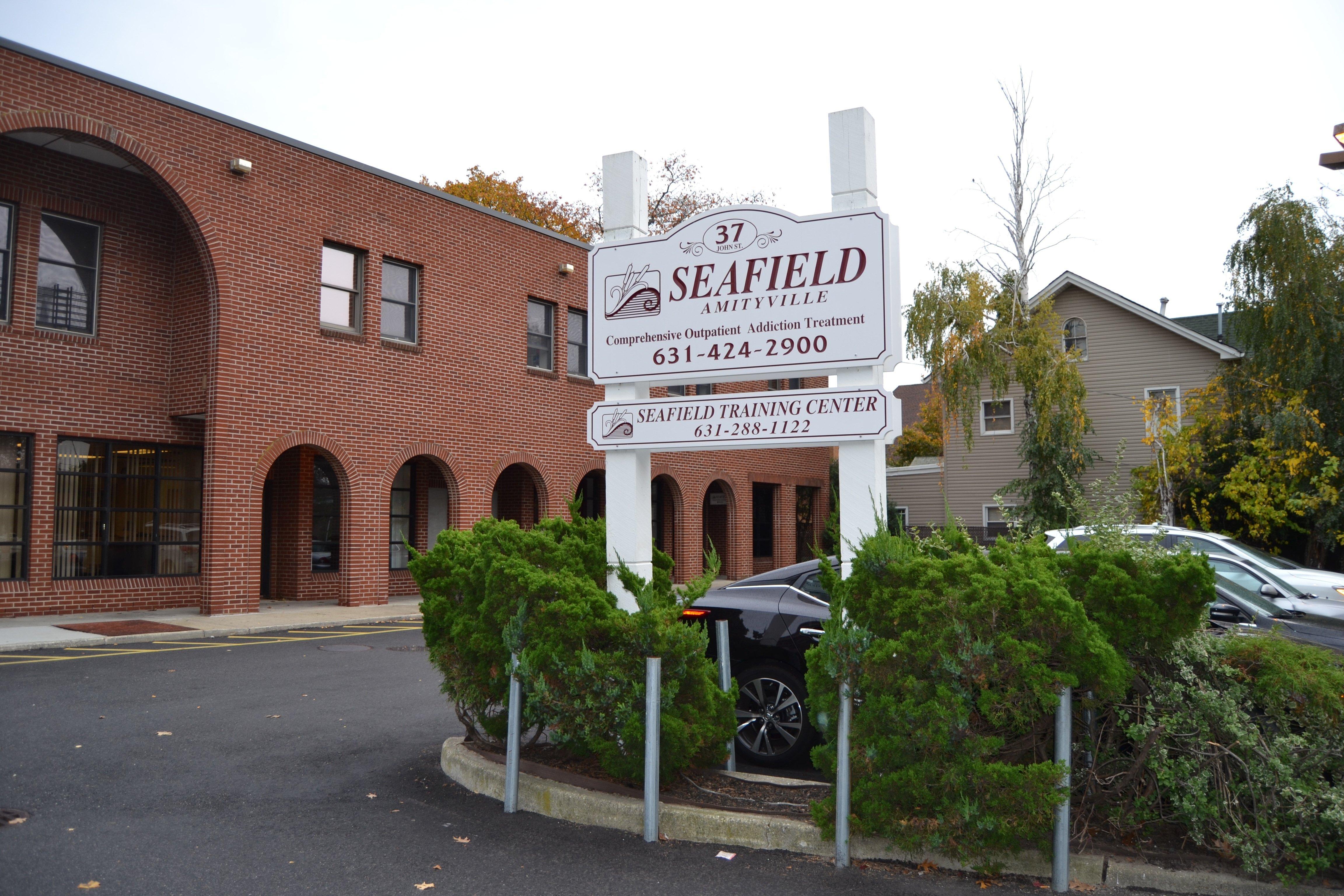 exterior of Seafield rehab facility - Amityville NY