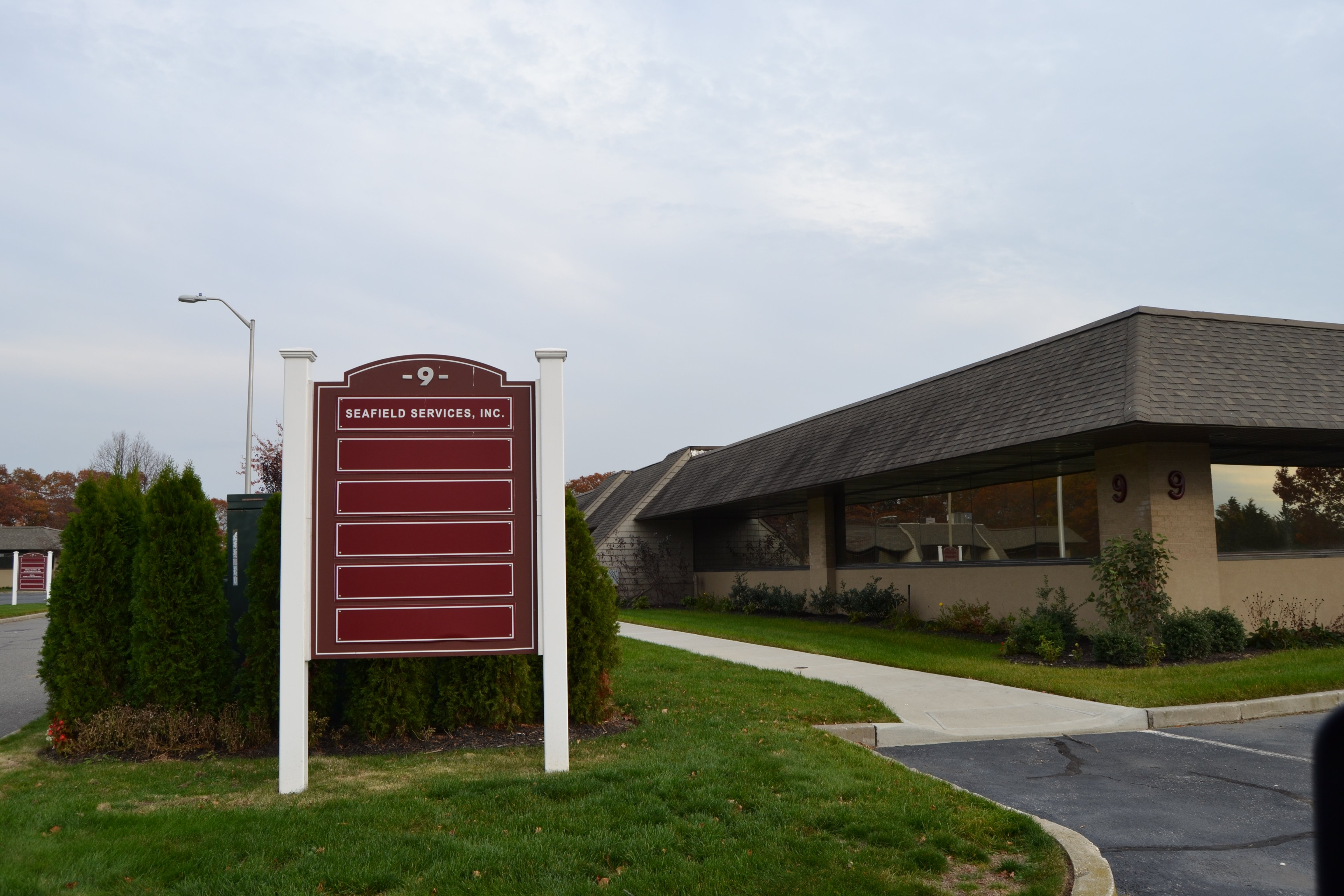 exterior of Seafield drug & alcohol rehab facility - Medford NY
