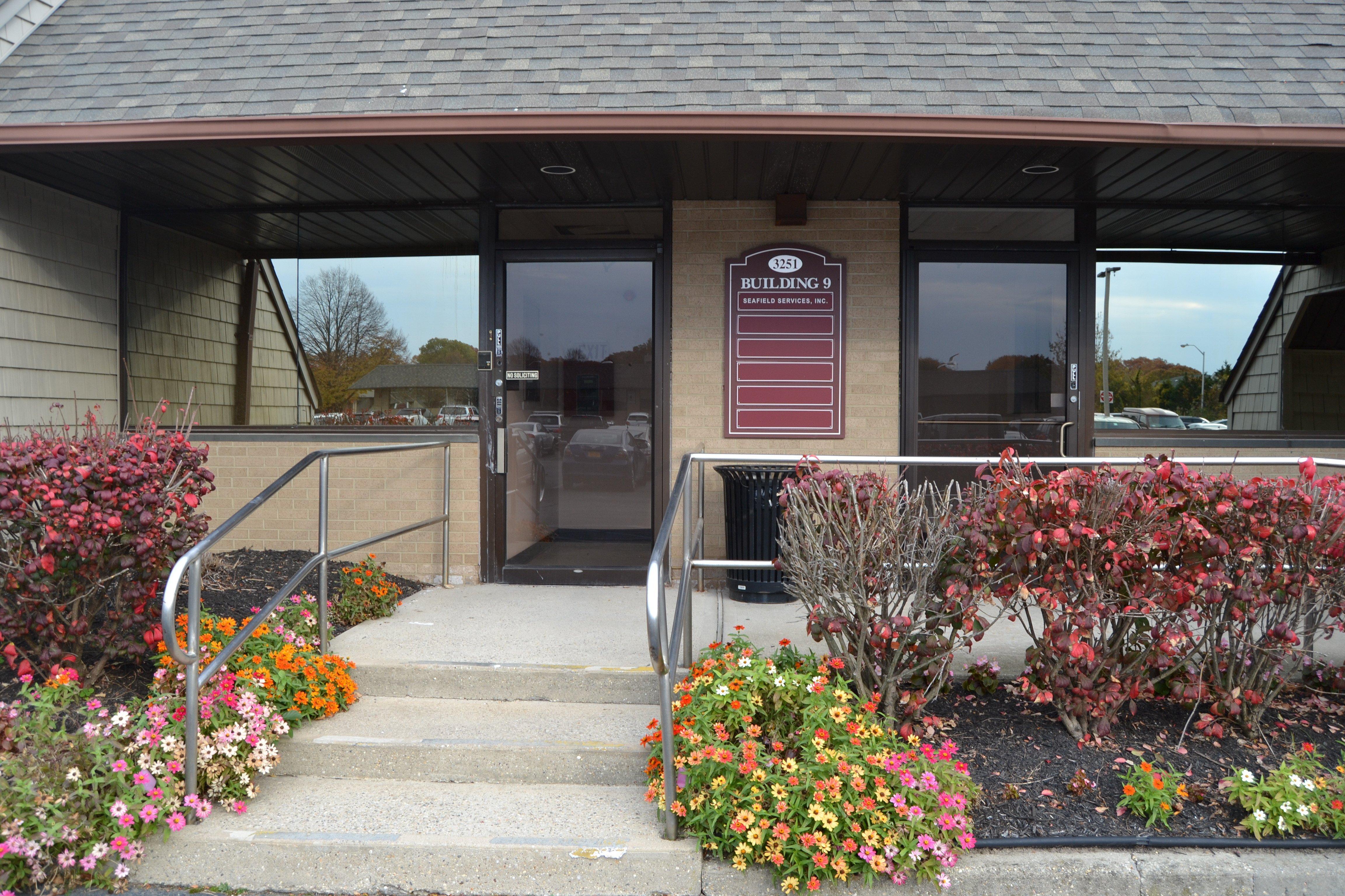 Exterior of Seafield rehab facility - Medford NY
