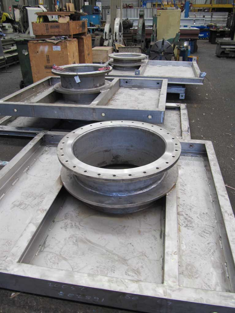 Examples of our stainless steel fabrication