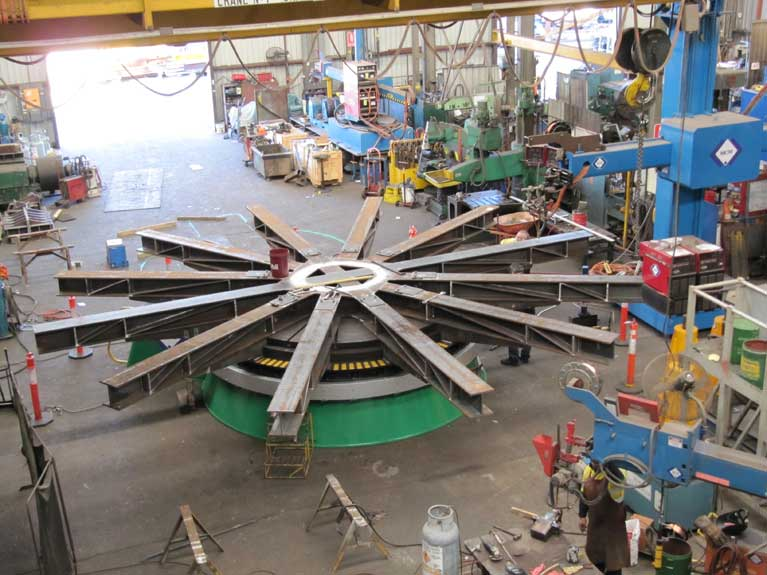 MCM Manufacturing Installation and manufacturing rotator