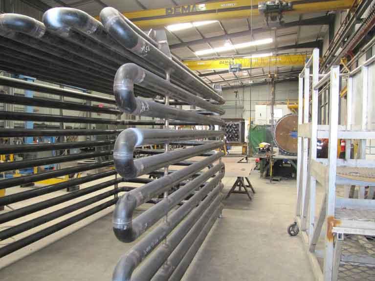 MCM Manufacturing Pressure Piping