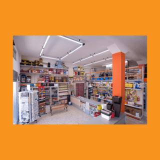 negozio interno bancone