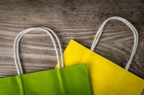 Shopper colorati