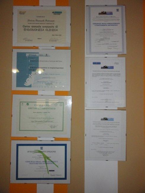 certificazioni e attestati