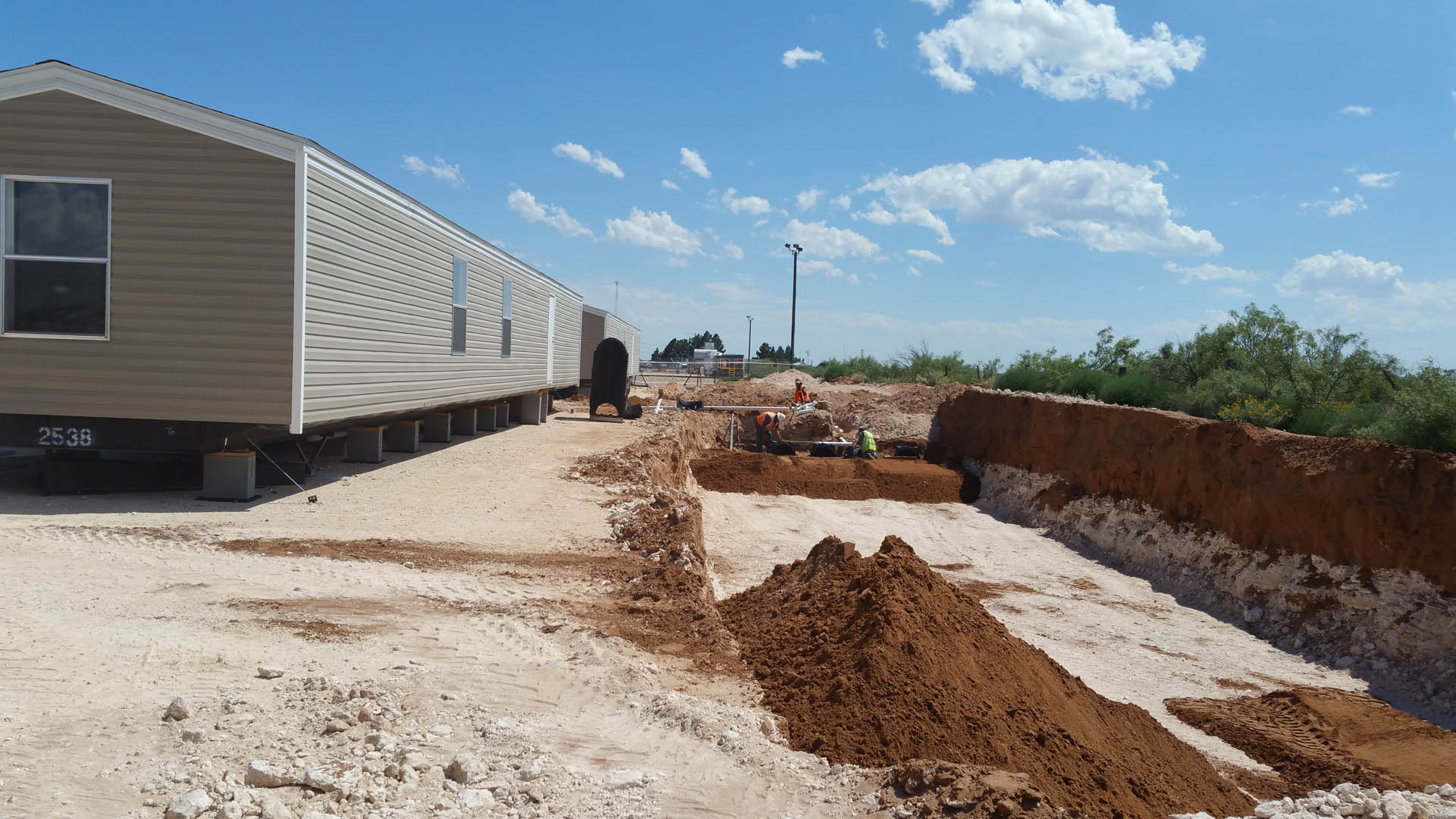 Portable Toilet Rental in West Texas - R & R Construction