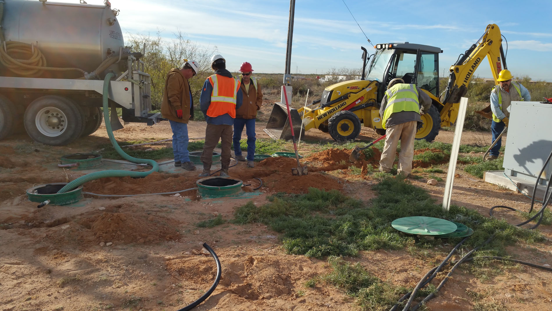 Porta Potty Rental in West Texas - R & R Construction