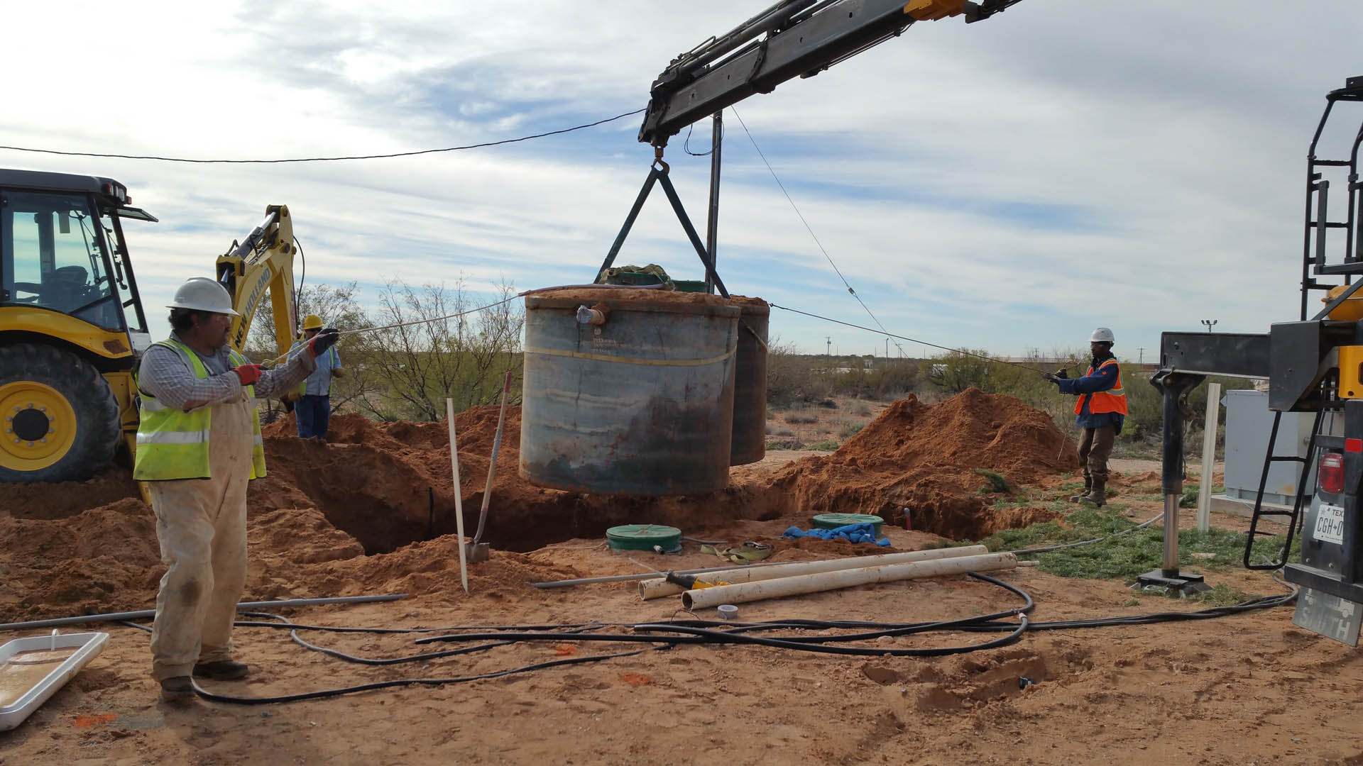 Porta Potty Rental in Monahans, TX - R & R Construction