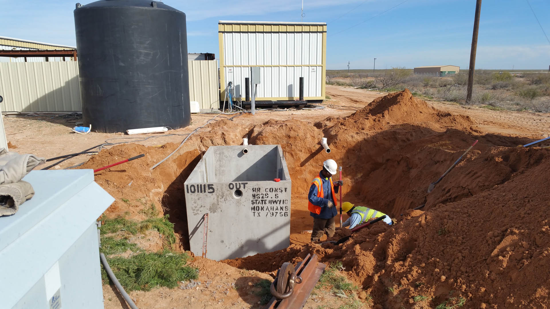 Porta Potty Rental in Fort Stockton, TX - R & R Construction