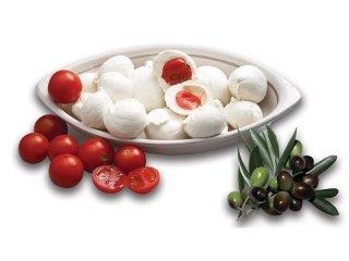 Bocconcini con pomodorini o olive
