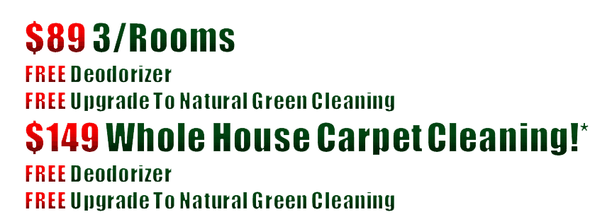 Carpet Cleaning Coupons | Carpet Steam Cleaning Specials