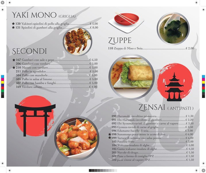 fettine di sashimi