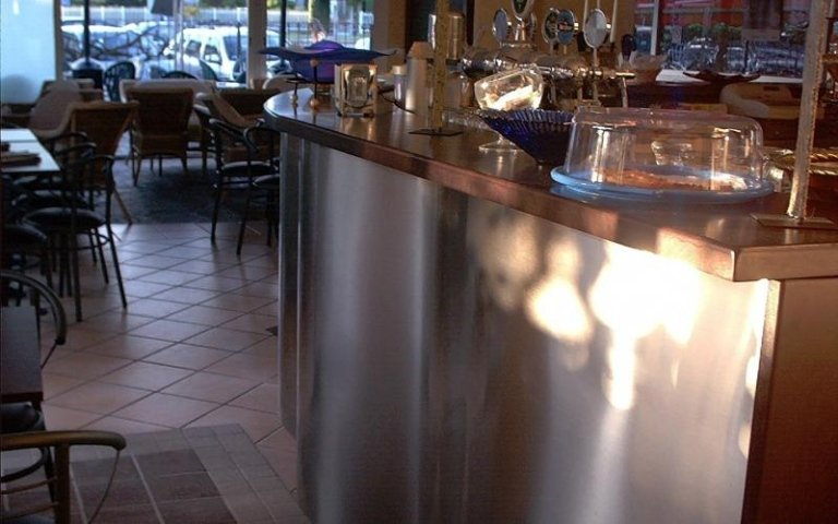 Banco per caffetteria