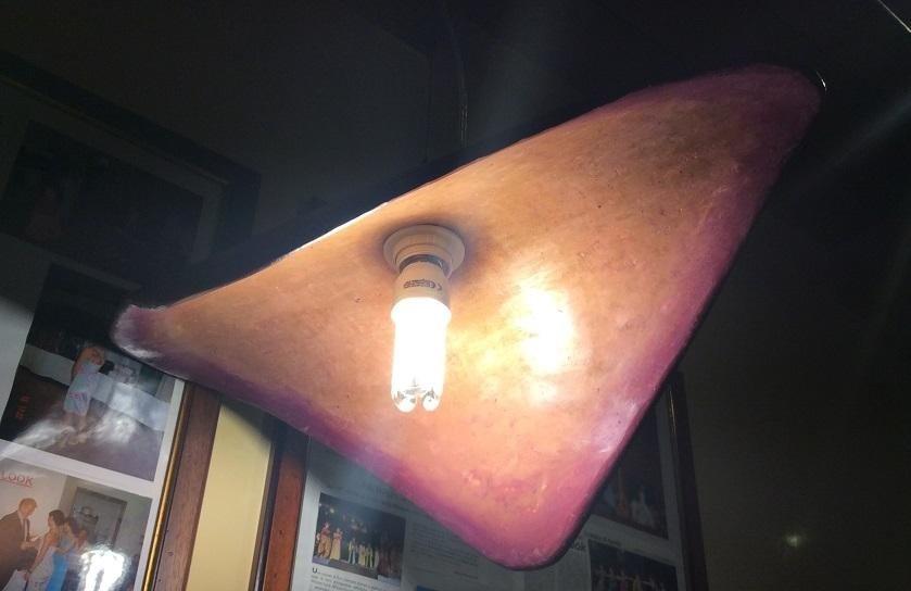 lampade in coccipesto