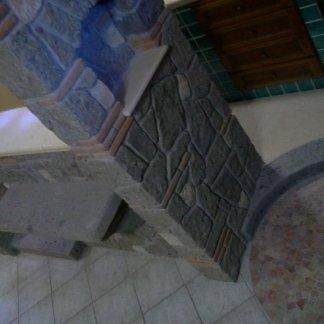 lavorazione cucina a muratura