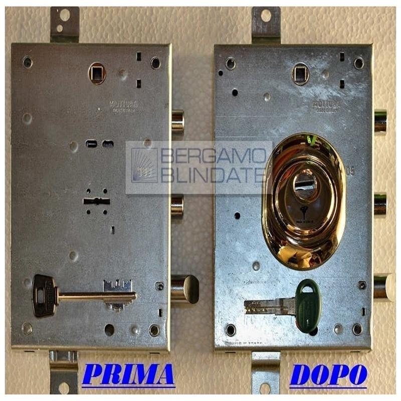 Come proteggere una serratura a doppia mappa for Serratura bloccata chiave non gira