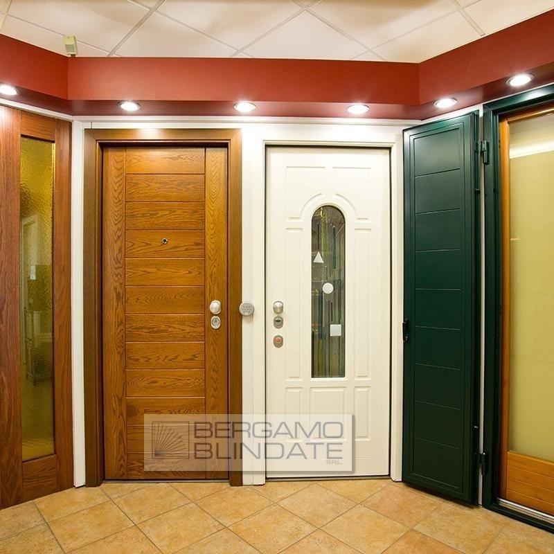 Porte blindate in show room