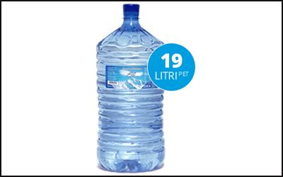 Boccione acqua 19 litri