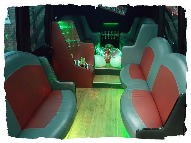 quality Party bus limo