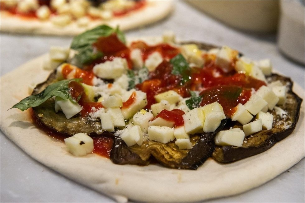 PIZZAS WITH VEGETABLES DA SALVATORE VERONA