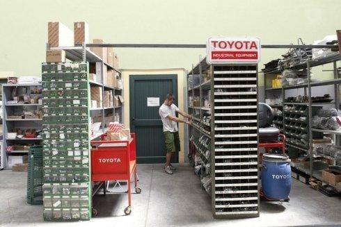 ricambi per carrelli elevatori Toyota