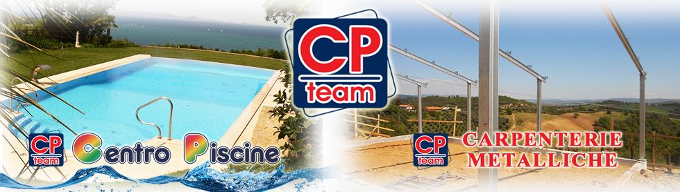 Vendita Piscine e Carpenterie Metalliche - CP Team, Grosseto (GR)