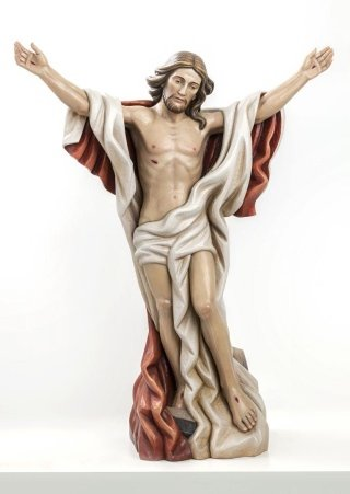 Cristo risorto totale