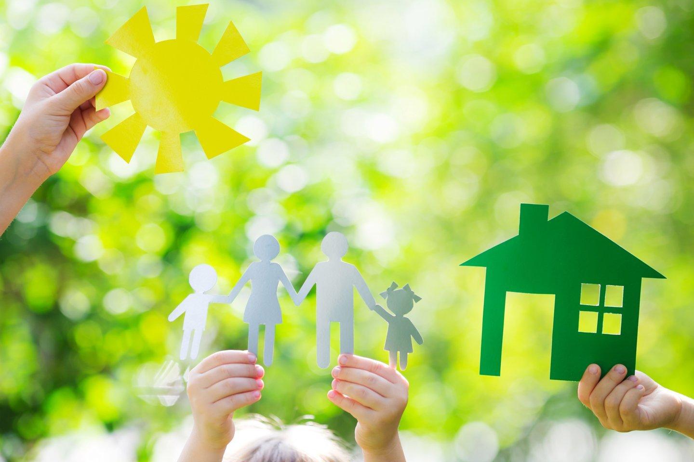ecologia casa in mano