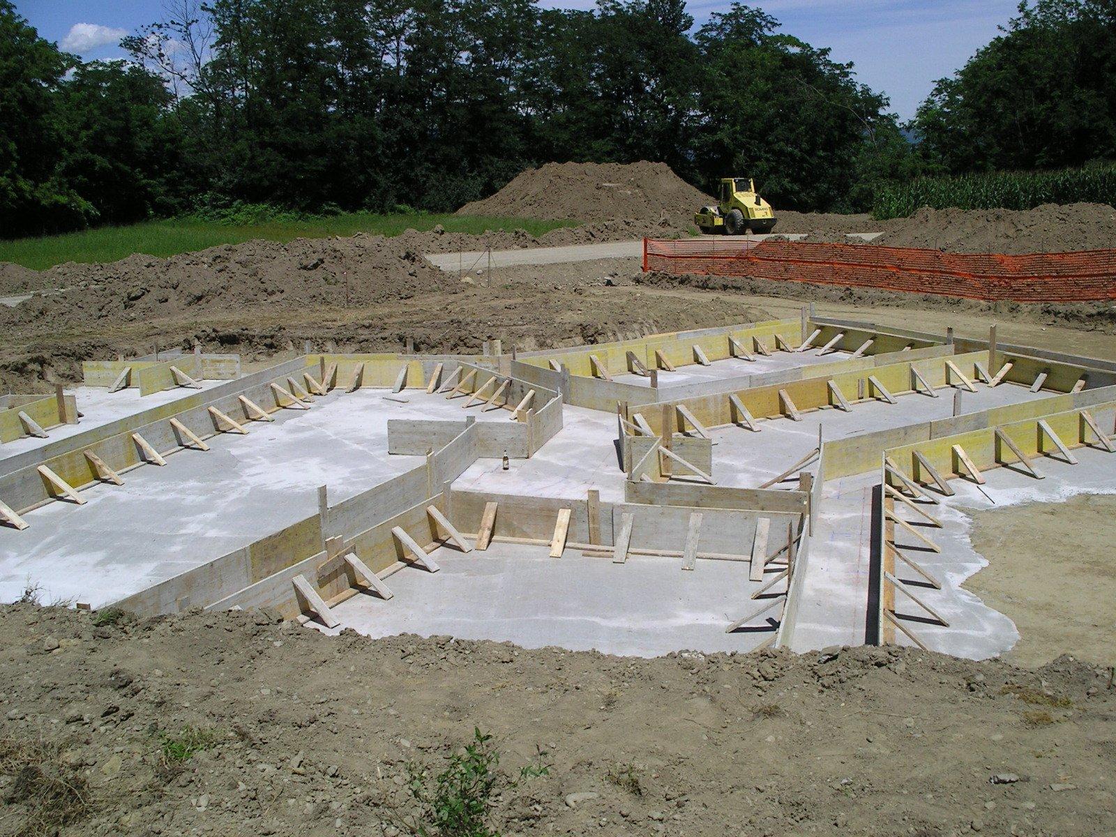 costruzione di pavimento