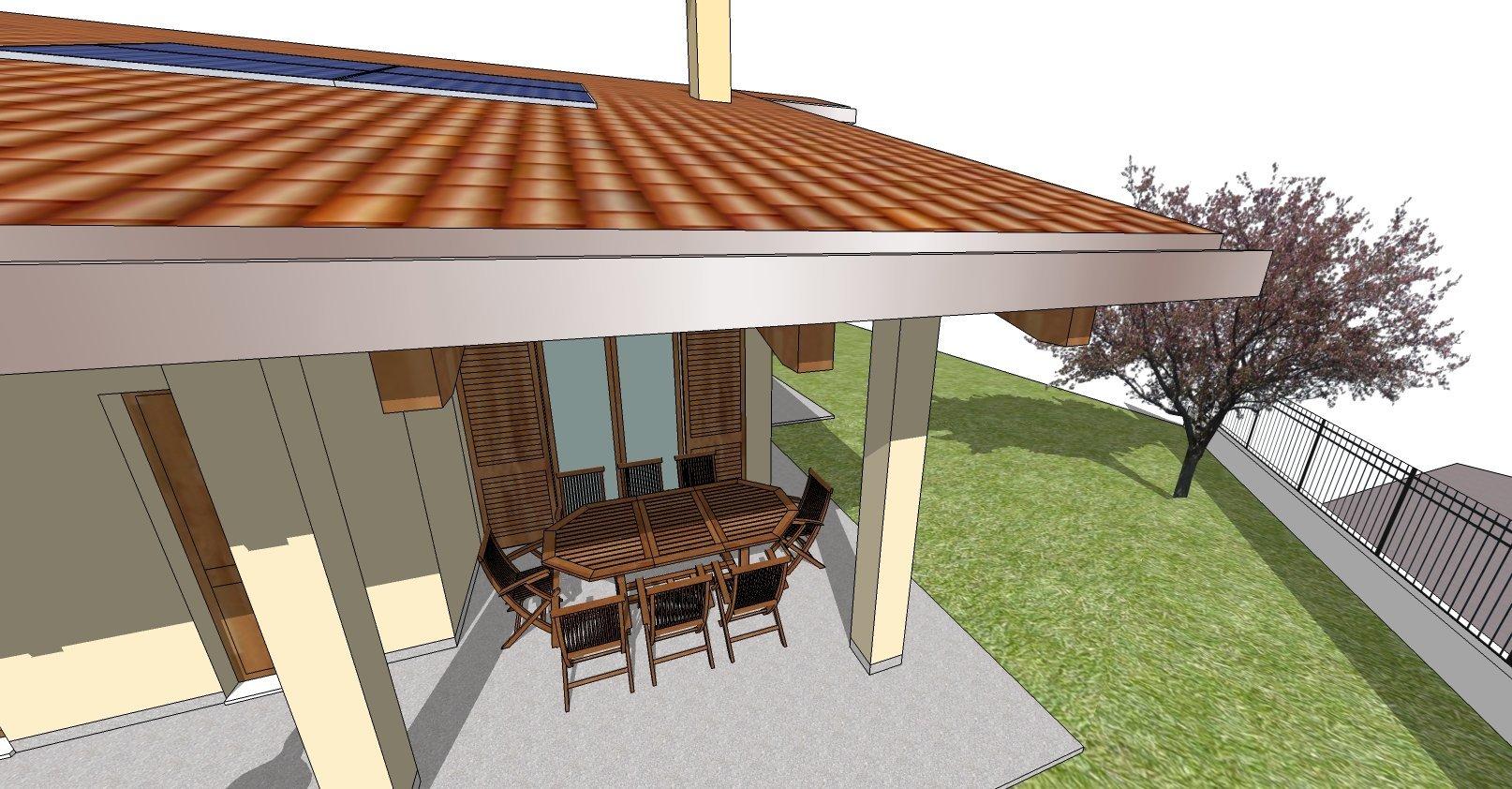 disegno bozza casa - gazebo