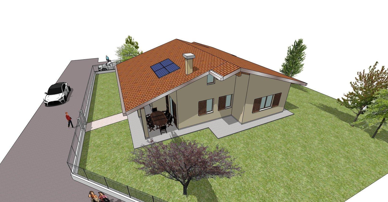 disegno bozza casa