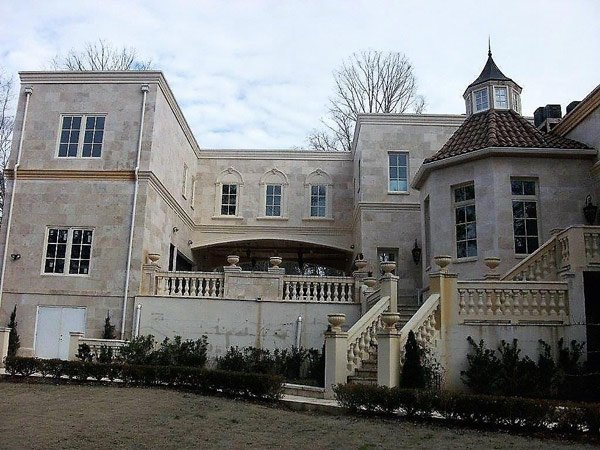 side view of mansion