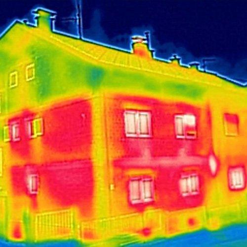heat camera image