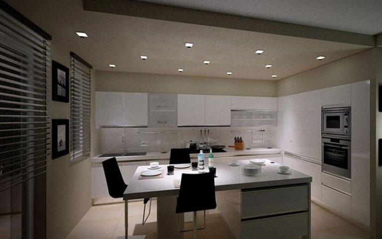 cucina moderna bianca modena
