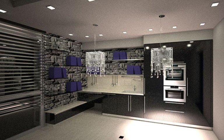 cucina lineare moderna modena