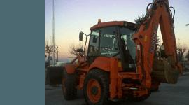 autocarri, bulldozer, escavatori cingolati