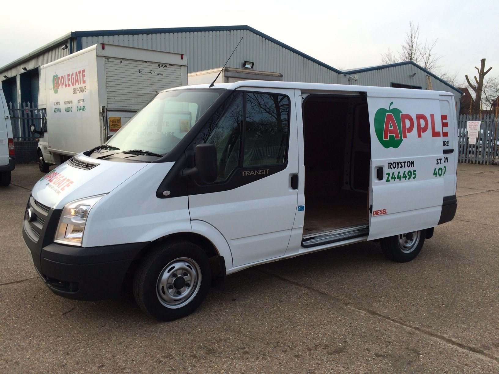 Transit van for relocation