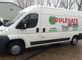 Van for domestic transport