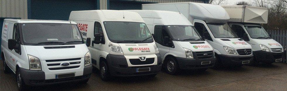 Self-drive van hire