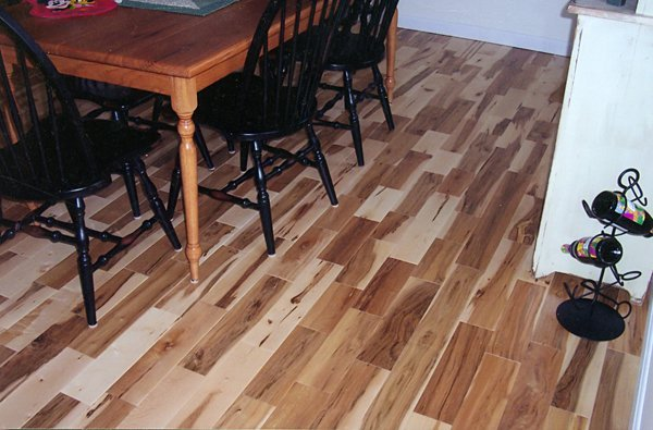 4'' Rustic Maple Hardwood Floors Wood Manchester & Concord, NH